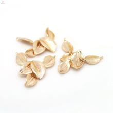 Encantos de cobre ambientais Mobilizable da folha de ouro do bracelete 24K do metal