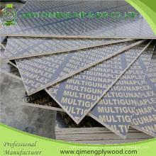 Contreplaqué imperméable de film de noyau de recyclage de haute qualité pour la construction