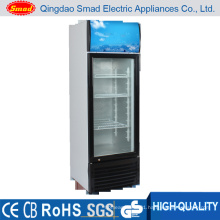 Vertical Beer Fridge, Glass Door Refrigerator, Display Showcase