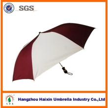 2014 Großhandel neue 21-Zoll-8 Rippen manuelle offen 2 Falten benutzerdefinierte Regenschirme Mode
