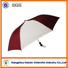 2014 Wholesale New 21 Inch 8 Ribs Manual Open 2 Folding Custom Umbrellas Fashion