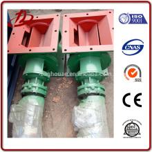 Válvula de aire de giro rotativa personalizada válvula de descarga precio