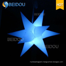 Event Stage Wedding Party Christmas LED Lighted Inflatable Decoration Star