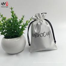 Novo design engraçado simplesmente saco de cordão de cetim