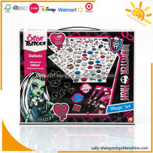 Monster High Tattoo Set With Stencil