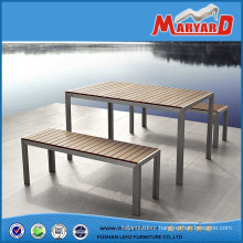 Popular Outdoor Furniture Teak Wood Bench & Table