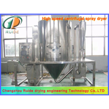 Spray dryer for albumin powder