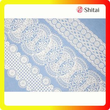 Best quality chemical lace for women dress