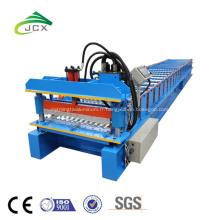 machine de fabrication de tôle ondulée enduite de couleur