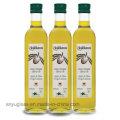 Bouteilles d'huile d'huile d'olive carrée de 250 ml 500 ml 1000 ml avec bouchon