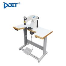 DT 207 fábrica forneceu diretamente duas cores depois de modelar sapato único interior máquina de corte de borda de forro