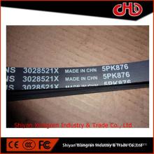 Cinturón con nervadura del motor diesel ISM M11 3028521