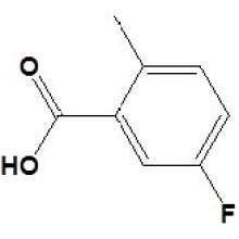 5-Fluoro-2-Metilbenzóico Acidcas No. 33184-16-6