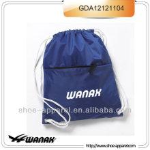 Pacote de ginásio de saco de mochila de cordão de nylon 70d