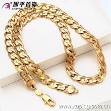 Китая оптом Xuping Специальная цена 18k позолоченный ожерелье для мужчин