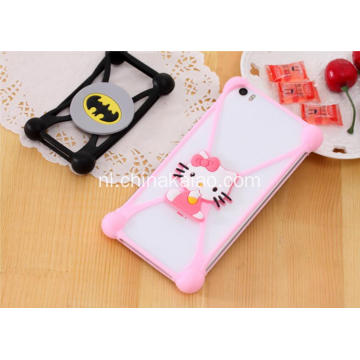 Silicone Cartoon Case Cover voor mobiele telefoon