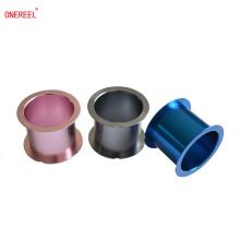 OEM preciso color superficie oxidación aluminio carrete de metal