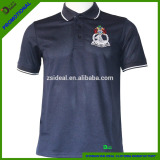 100%polyester short sleeve quick dry Men's polo shirt