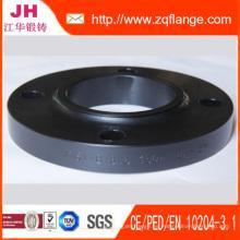 Soldadura de Bridas planas sobre tubos Pn16-En1092-1-DIN2502