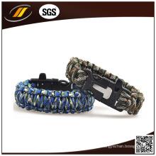 Fogo Starter Whistle Paracord Bracelet (HJ7016)