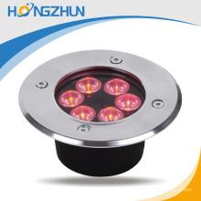 Hot sale extérieur 6w RGB conduit lumière souterraine avec télécommande fabriqué en Chine
