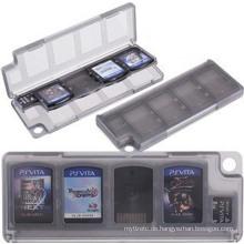 10 in 1 HEPD Material Aufbewahrungsbox Kartenetui für Sony PS VITA PSV 1000 2000 Speicherhalter Patrone