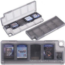 10 in 1 HEPD Material Storage Box Card Case for Sony PS VITA PSV 1000 2000 Memory Holder Cartridge