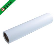 QingYi venta al por mayor blanco imprimible vinilo de transferencia de calor de la pu