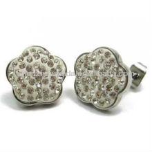 Brincos de moda 2013 para mulheres brincos de orelha flor vners