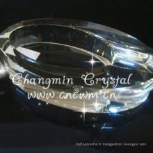 Chine professionnel fabrication fantaisie cendrier en verre cigare en verre