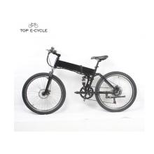 Plein suspension 26inch hummer pliable vélo de vélo de montagne électrique avec batterie cachée