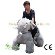 Reliable for Stuffed Animal Rides gray elephant toy car export to Eritrea Factory