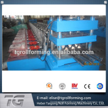 Hydraulic Automatic Highway Guardrail Roll Forming Machine with initial design