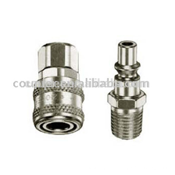 Pneumatic ARO Type Steel Quick Coupling For Air Tool
