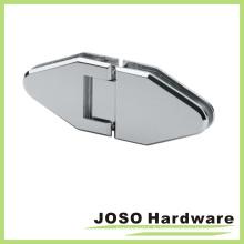 Charnière pivotante de porte de douche en verre de 180 degrés en verre (Bh8002)
