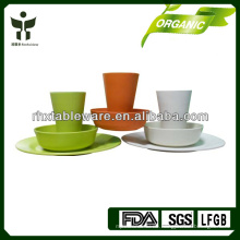 Bambusfaser Recycling-Dinner-Sets