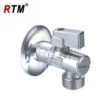 Bathroom Chrome Plated Water Angle Valve two-way angle valve