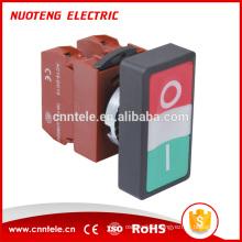 Interrupteur à bouton-poussoir de verrouillage de type panneau de 20 mm sans nc avec CE, CCC