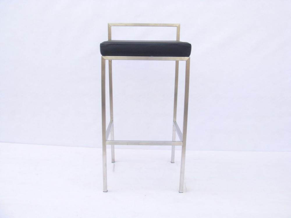 stainless steel barstool