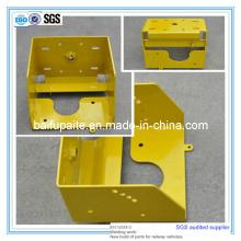 Powder Coating Sheet Metal Fabrication CNC Cutting Parts