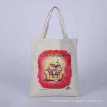 sac en cuir de teto en gros sac à provisions sac promotionnel