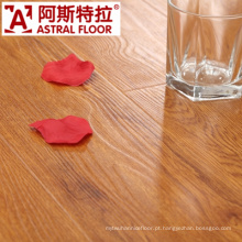 8mm superfície de textura de madeira real impermeável superfície (U-Groove) revestimento laminado (AS0002-4)