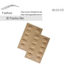 Accessoire de maquillage permanent 3D Practice Skin