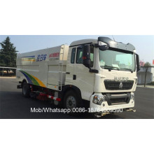 HOWO Road Truck with Sweeper and Washer