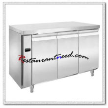 R307 3 portes luxueux Fancooling Undercounter réfrigérateur / congélateur