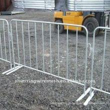 Verkehrssicherheit Barriere Zaun