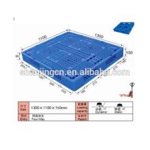 Paleta de plástico 1300 * 1100 * 150 mm