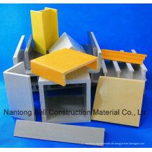 FRP / GFK Glasfaserverstärkte Kunststoff-Pultrudierte Profile
