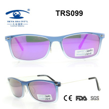 Promotional High Quality Beautiful Tr Sunglass (TRS099)