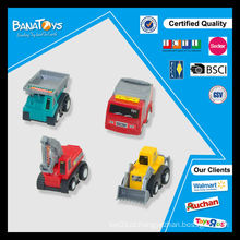 Carro quente do presente da venda quente mini para miúdos puxar para trás o brinquedo plástico